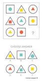 La prueba del índice de inteligencia elige respuesta libre illustration
