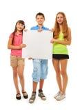 La publicité d'exposition d'enfants Photo libre de droits