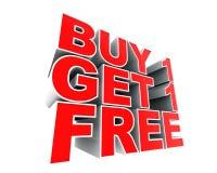 La publicité de la conception Images libres de droits