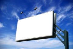 La publicité du panneau-réclame photo stock