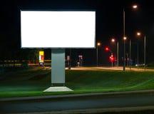 La publicité du panneau-réclame photographie stock