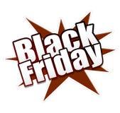La publicité du symbole : Heure pour la vente noire de vendredi ! Économisez maintenant illustration de vecteur
