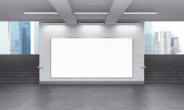 La publicité souterraine Photographie stock