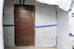 La puerta. Fotos de archivo