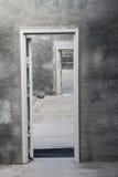 La puerta abierta Imágenes de archivo libres de regalías