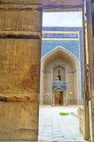 La puerta abierta Fotografía de archivo