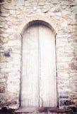 La puerta blanca Foto de archivo libre de regalías