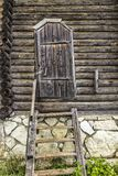 La puerta a la casa imagenes de archivo