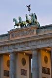 La puerta de Brandenburgo Fotos de archivo