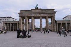 La puerta de Brandenburgo Fotografía de archivo