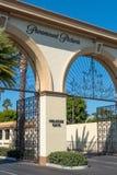 La puerta de la colada en la sociedad de Paramount Pictures imagen de archivo
