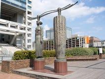 La puerta de la escultura de Venus de Souji Sugiyama, Odaiba, Tokio, Japón fotos de archivo libres de regalías