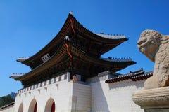 La puerta de Gwanghwamun Fotos de archivo