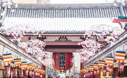 La puerta de Kaminarimon Fotos de archivo