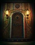 La puerta de la cámara acorazada, 3d CG Imagen de archivo libre de regalías