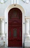 La puerta de la casa vieja Fotos de archivo libres de regalías