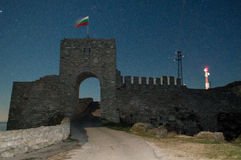 La puerta de la fortaleza Kaliakra en Bulgaria imágenes de archivo libres de regalías