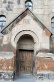 La puerta de la iglesia Foto de archivo libre de regalías