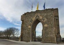 La puerta de la paz en Diksmuide cerca de Ypres. fotografía de archivo libre de regalías