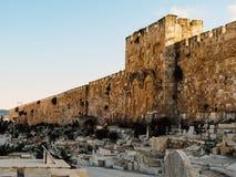 La puerta de oro en Jerusalén imágenes de archivo libres de regalías