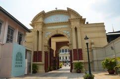 La puerta de Piman Chaisri dentro del palacio magnífico Foto de archivo
