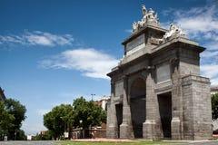 La Puerta de Toledo de Madrid Stock Image