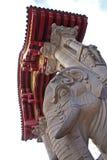 La puerta del elefante Foto de archivo libre de regalías