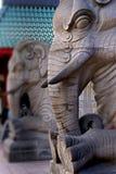La puerta del elefante Imagen de archivo