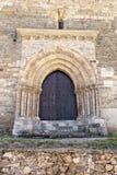 La puerta del perdón en Villafranca del Bierzo Imágenes de archivo libres de regalías