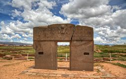 Puerta del Sun Imagen de archivo