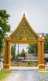 La puerta a los templos en budismo Imagen de archivo
