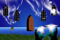 La puerta a otros mundos libre illustration