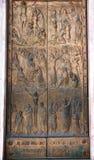 La puerta santa   Foto de archivo
