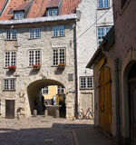 La puerta sueca en Riga imágenes de archivo libres de regalías