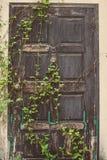 La puerta vieja del vintage Fotos de archivo libres de regalías