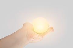 La puissance de donner ou donnent le concept d'énergie Images stock