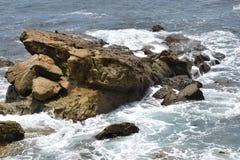 La puissance de l'océan pacifique Images libres de droits