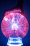 La puissance de plasma dans une main Photo stock