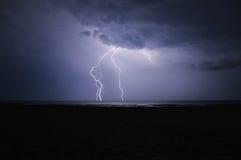La puissance du ciel Photographie stock