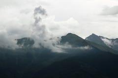 La puissance du nuage Photographie stock