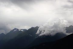 La puissance du nuage Photos stock