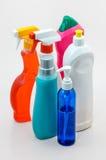 La pulizia della famiglia imbottiglia 03 Fotografie Stock Libere da Diritti