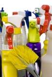 La pulizia fornisce 006 Fotografia Stock Libera da Diritti