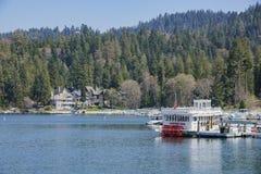 La punta de flecha famosa del lago fotos de archivo libres de regalías