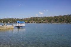 La punta de flecha famosa del lago imagen de archivo libre de regalías