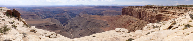 La punta de Muley pasa por alto Fotos de archivo