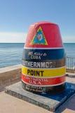 La punta más situada más al sur, Key West Fotos de archivo