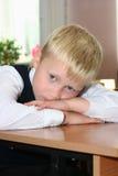 La pupille fatiguée Image libre de droits