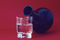 La pureté de l'eau Photographie stock