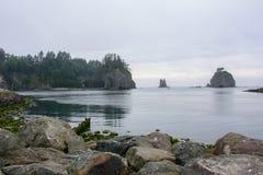 La Push Beach, Pacific coast, Washington USA Stock Image